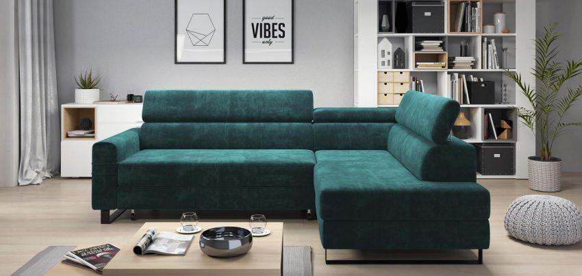 Narożnik, kanapa czy fotel do małego salonu?